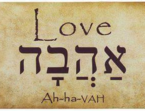 The Hebrew word for Love