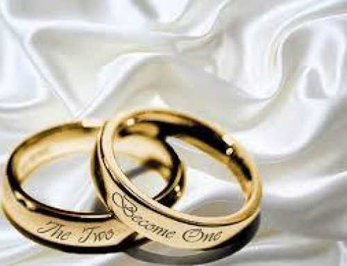 The Origin of marriage and what it should be